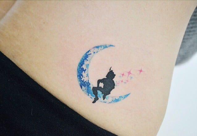27 Minimalist Peter Pan Tattoos To Remind You Never