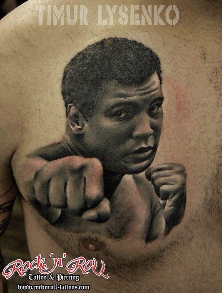 Another beautiful portrait of Ali done by Timur Lysenko