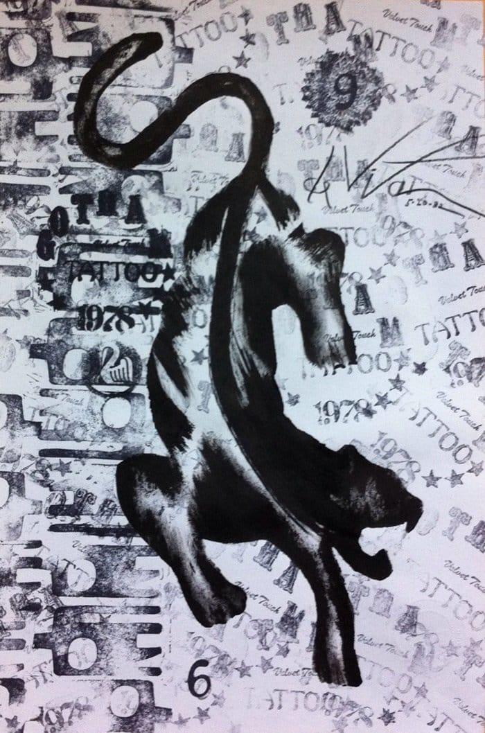 Crawling Panther by De Vita