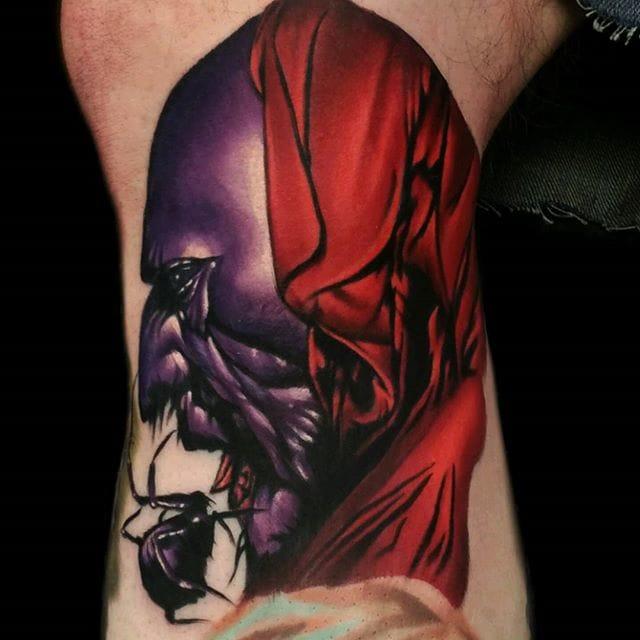 The Dark Tower tattoo by Nate Bjork