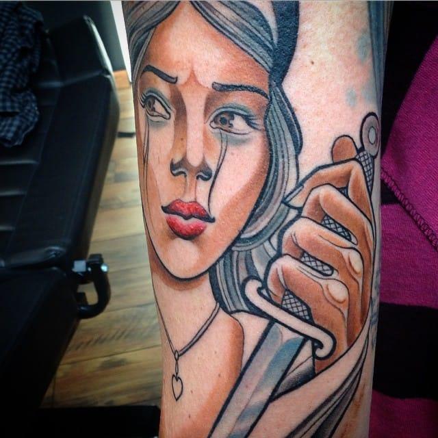 Juliet tattoo by El Tomtom