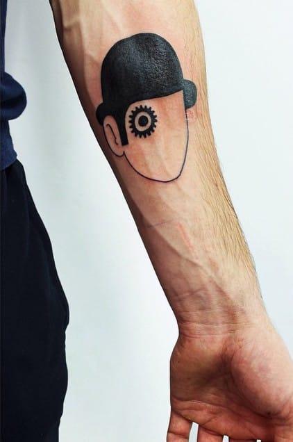 Clockwork Orange tattoo by oliverhillier