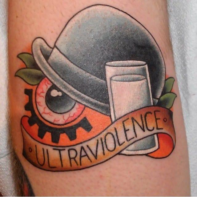 21 curious clockwork orange tattoos tattoodo for Tattoo shops junction city ks