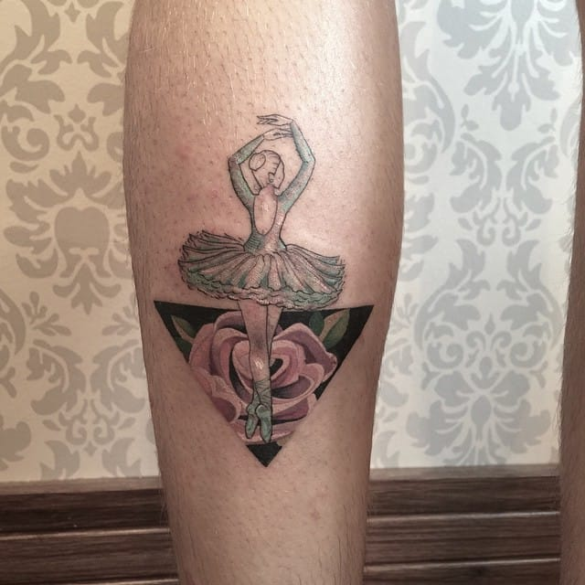 Creative tattoo by Sindy Brito.