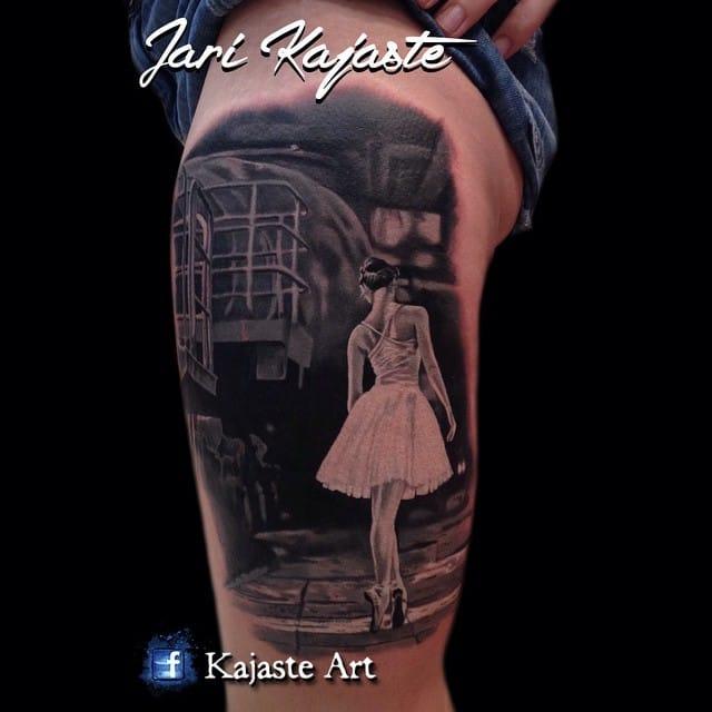 Great tattoo by Jari Kajaste.