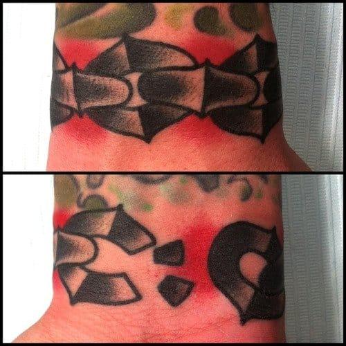 Great Wrist Tattoo by Ashley Love