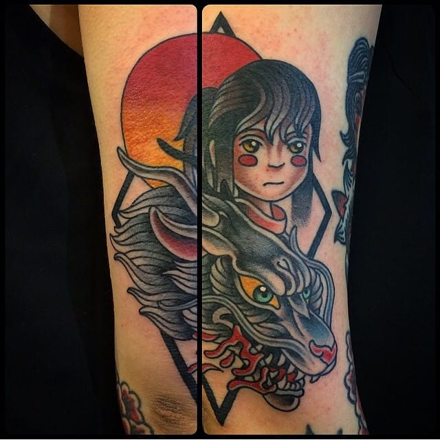 40 Spectacular Spirited Away Tattoos
