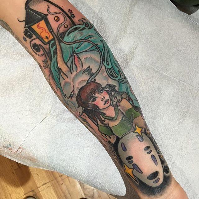 Spirited Away tattoo
