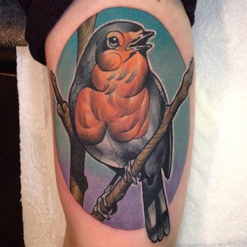 15 Chirpy Robin Tattoos