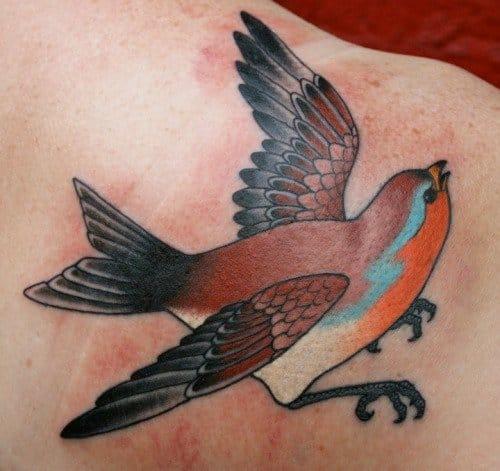 Robin Tattoo by Bradley Stevens