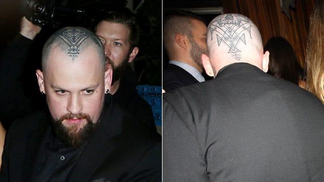 Benjamin Madden's New Head Tattoo