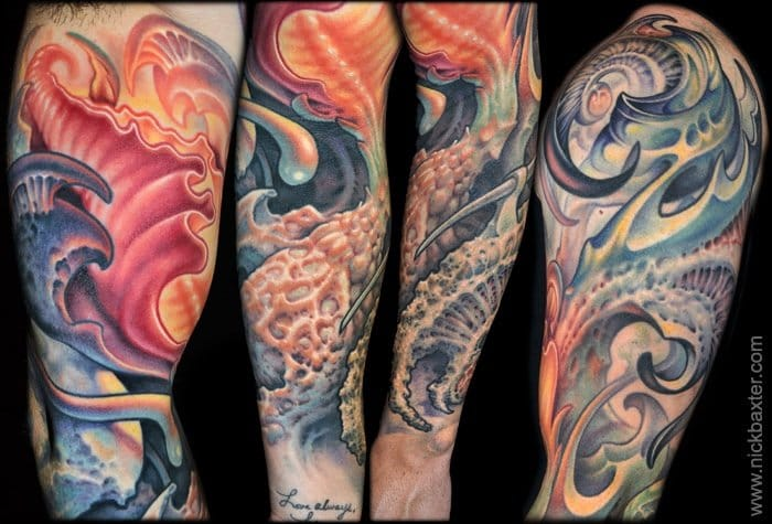 Evolution, sleeve by Nick Baxter