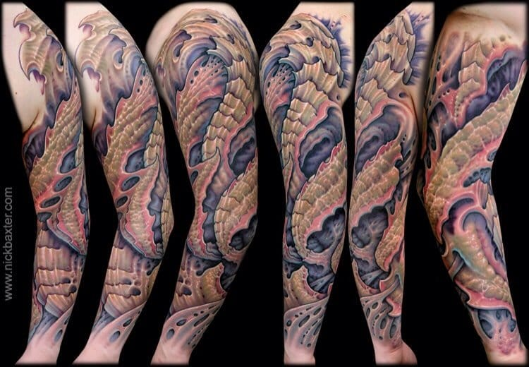 Bio Organic sleeve by Nick Baxter
