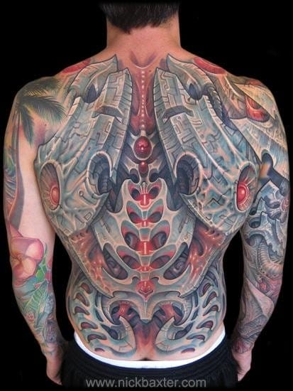 Blademech Backpiece by Nick Baxter