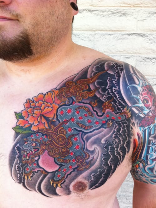 Japanese Style Work by Dave Sinor