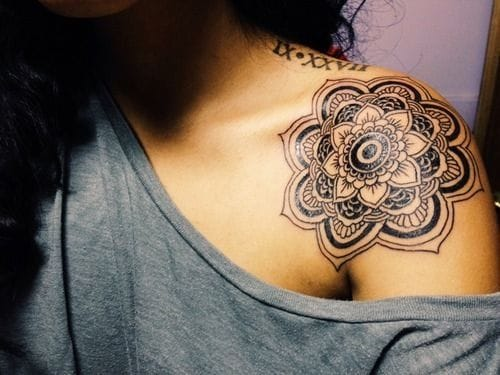 Flower mandala tattoo by Franco Maldonado #mandala