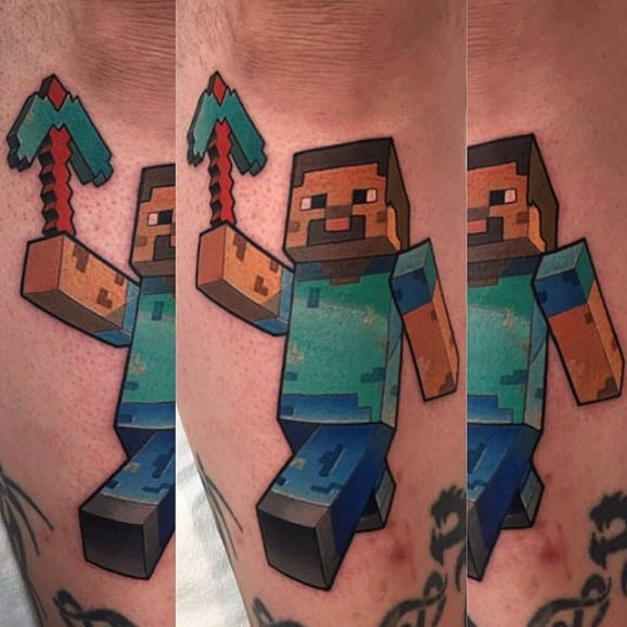 10 Tattoos For The Ultimate Gamer