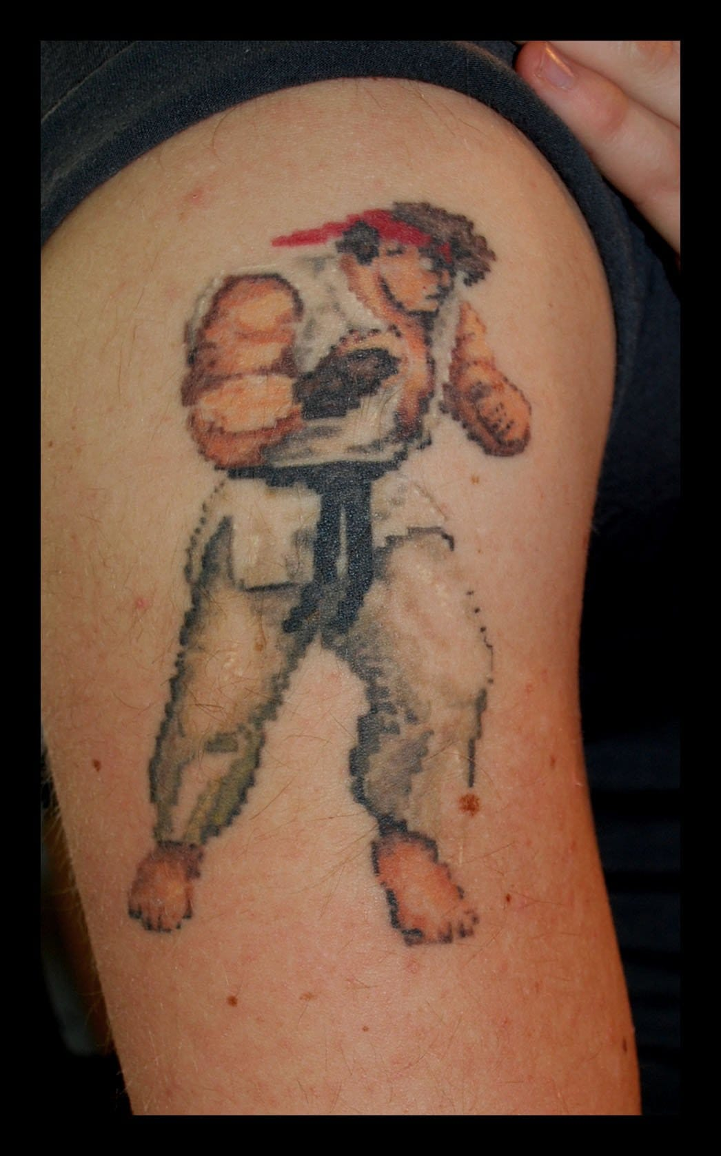 Street Fighter Tattoo, Tattoos For The Ultimate Gamer!!