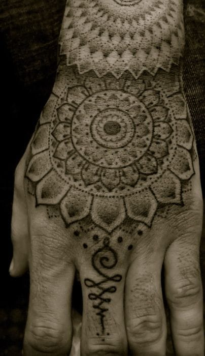 Hand tattoo by Kairy-Ma #kairyma