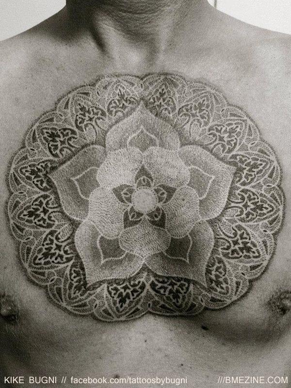 Tattoo by Kike Bugni #kikebugni #mandala #mandalatattoo