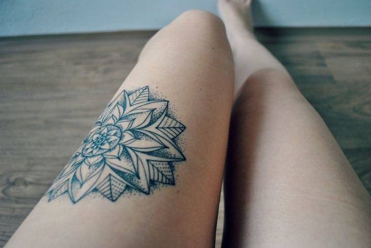 Awesome tattoo by Lukas Solik #mandala #lukassolik