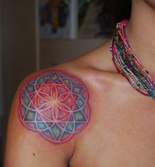 Tattoo by Mallory Swinchock #MallorySwinchock #mandala