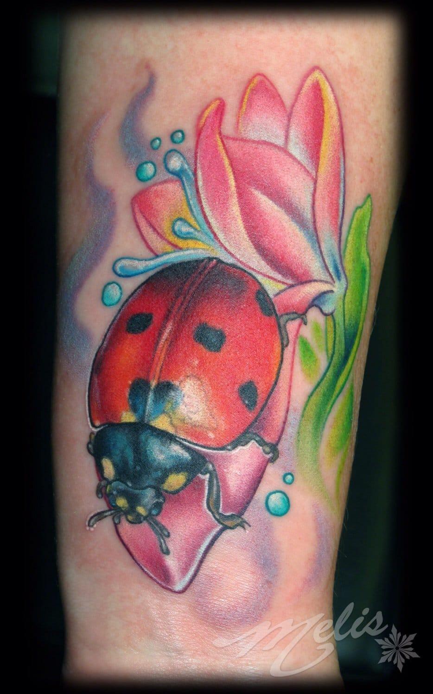 13 Really Cool Lady Bug Tattoos | Tattoodo