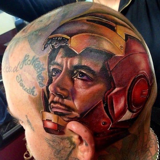 12 Solid Tony Stark Aka Iron Man Tattoos