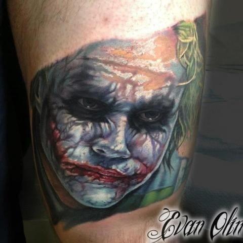 The Joker (Heath Ledger) by Evan Olin