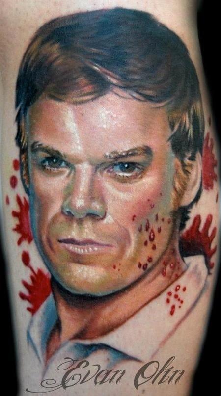 Dexter the killer by Evan Olin