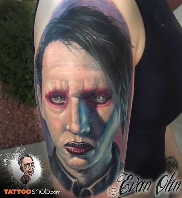 Marilyn Manson by Evan Olin
