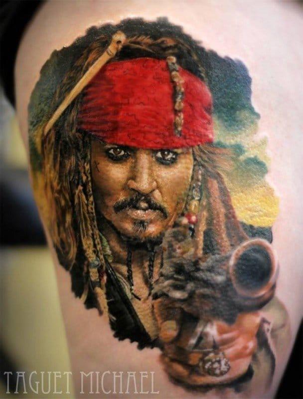 Tattoo by Taguet Michael