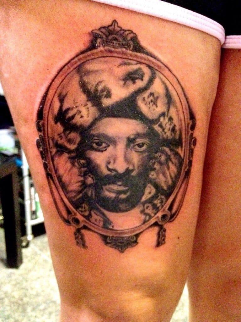 Snoop Dogg tattoo