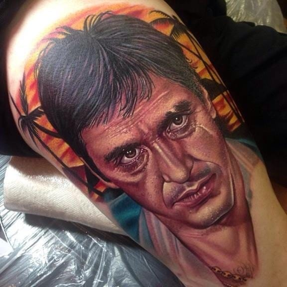 10 Amazing Al Pacino Tattoos