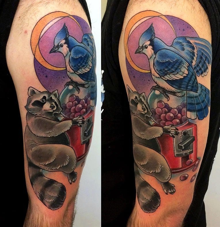 8 Fun Regular Show Inspired Tattoos