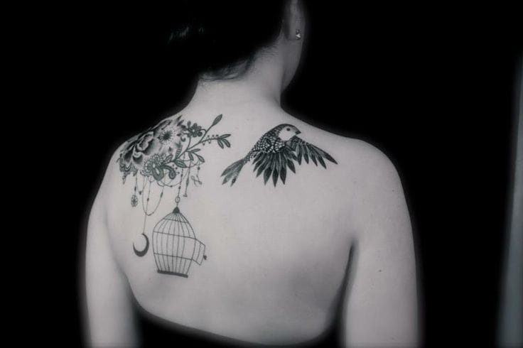 Lovely tattoo by Dodie.