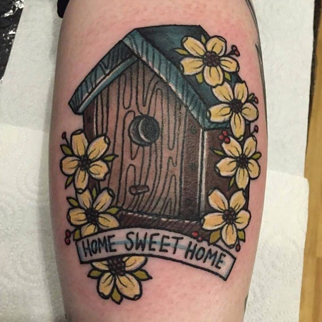 Home sweet home by Lydia Hazelton.