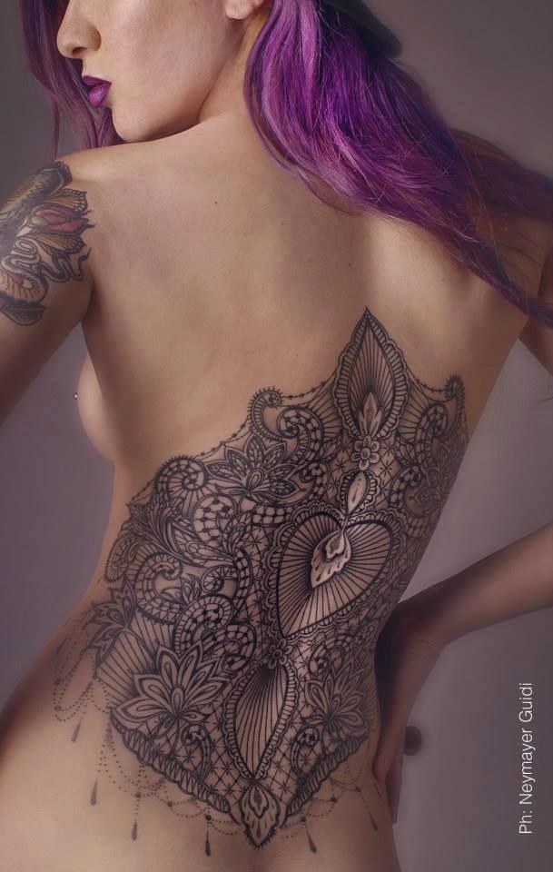 The high-class art of tattoo artist Marco Manzo and designer Francesca Boni.