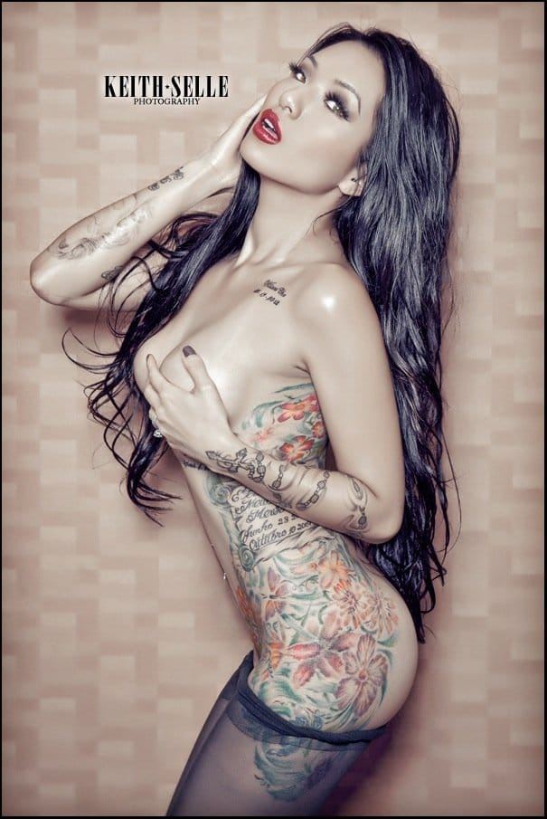 Nsfw yeonji the tattooed goddess from the land of the for Tattoo punk porn