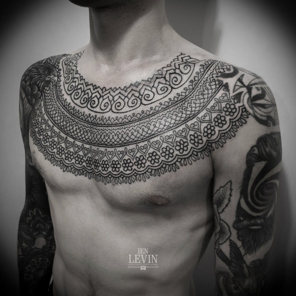 Get inspiration from ornamental and mehndi styles. By Ien Levin.