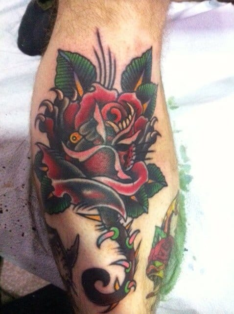 Another beautiful tattoo by Mr. Chad Koeplinger
