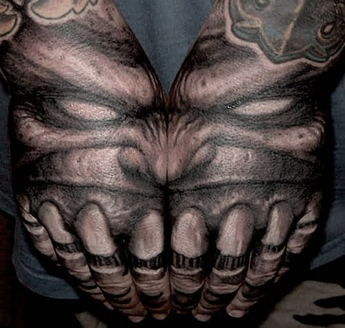 Cool idea for hand tattoos
