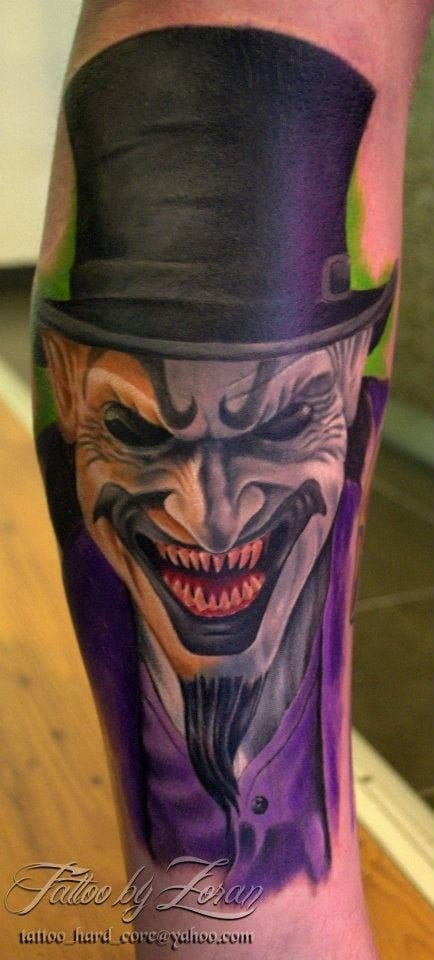 Joker Tattoo by Zoran