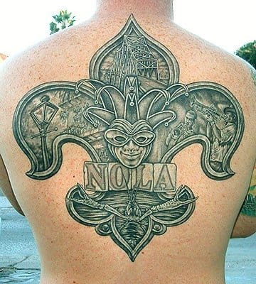 A Form Of Coping: Hurricane Katrina Tattoos