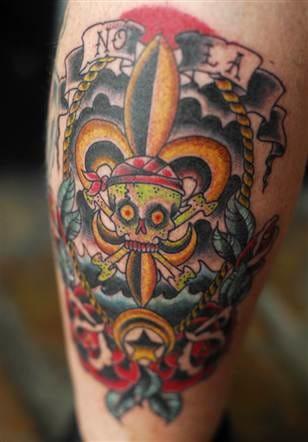 Hurricane Katrina Tattoo