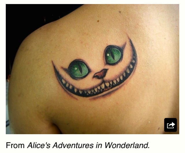 That crazy cat from Alice in Wonderland