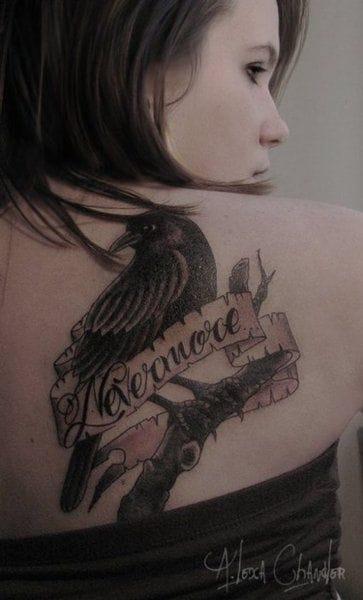 Of course, The Raven - Edgar Allan Poe.