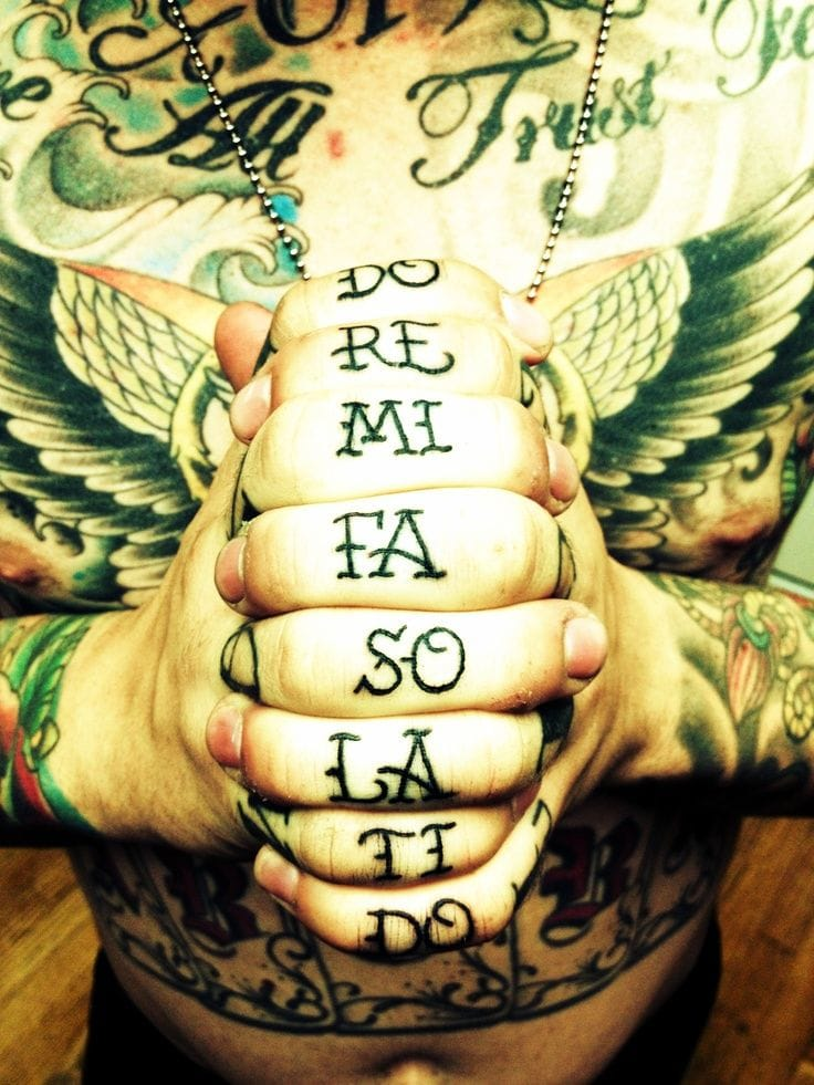 40 Music Tattoos That Rock