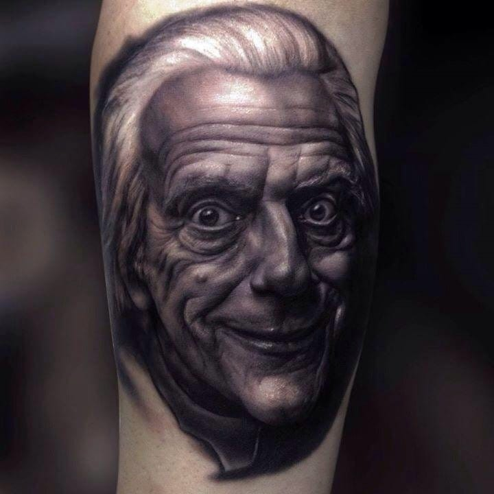 6 Cool Doc Brown Tattoos From Back To The Future