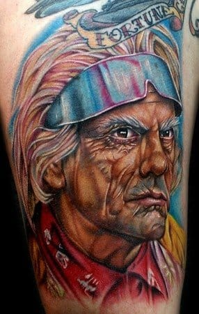 Awesome color portrait of